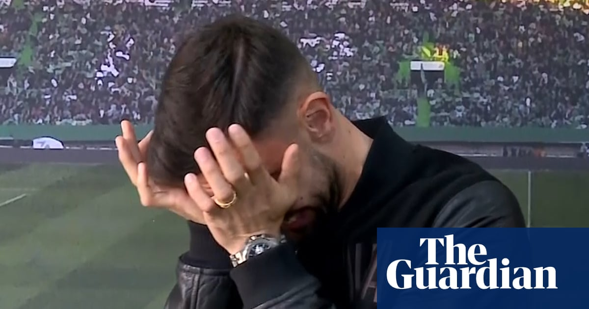 Emotional Bruno Fernandes gives final Sporting interview – video