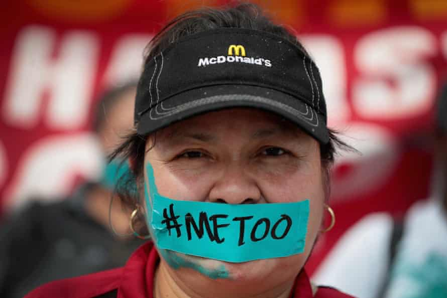 According to a recent study 40 percent of female fast-food workers experience unwanted sexual behavior on the job.
