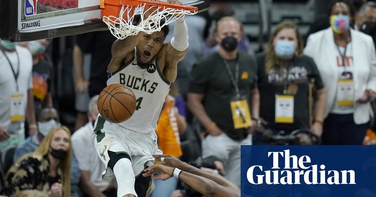 Bucks edge Game 5 thriller against Suns to move within one game of NBA title