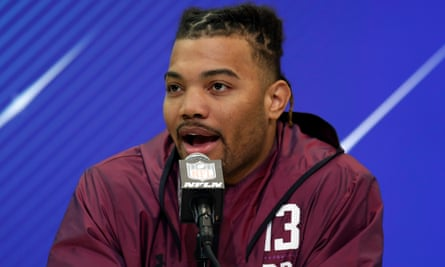 Derrius Guice is considered one of the best running backs in the NFL draft