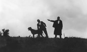 The 1921 film adaptation of The Hound Of The Baskervilles