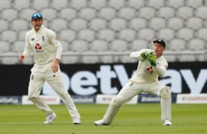 Buttler takes a catch to dismiss Naseem.