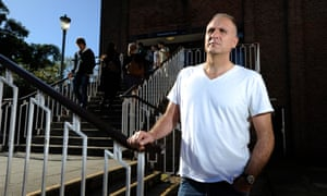 John Crace, who became addicted to heroin in his early 20s.