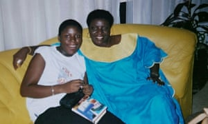 Eliza Anyangwe and her mother