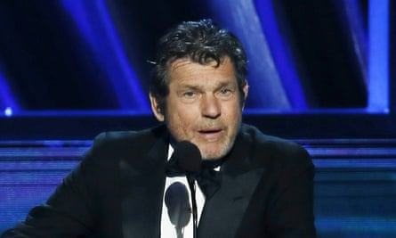 Jann Wenner, speaks at the Rock and Roll Hall of Fame in 2016. His role at the organisation has been the subject of controversy. Paul McCartney, for one, was not happy.