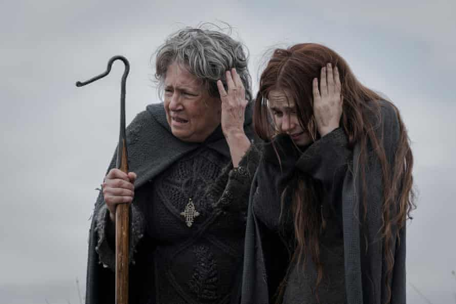 A still from the 2019 Foxtel drama series, Lambs Of God.