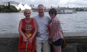 Sinkins family, in Sydney