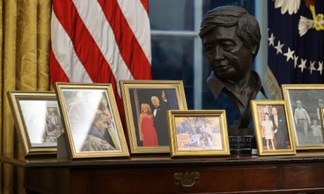 Inside Biden's Oval Office: Andrew Jackson out, César Chávez and Rosa Parks in