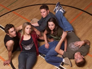 The cast of Freaks and Geeks.