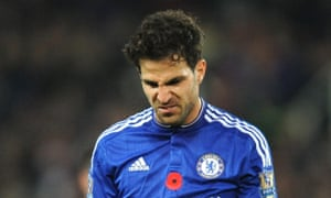 Cesc Fàbregas says Chelsea's results this season 'have not done justice to what we do on the pitch'.
