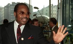 Former Nigerian oil minister Dan Etete.