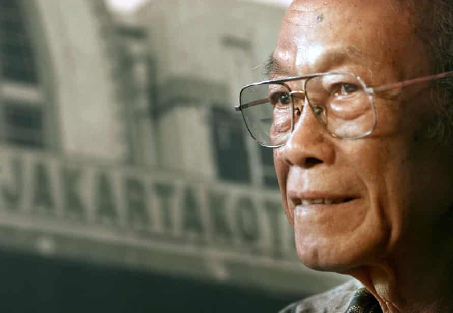 Pramoedya Ananta Toer in 2000
