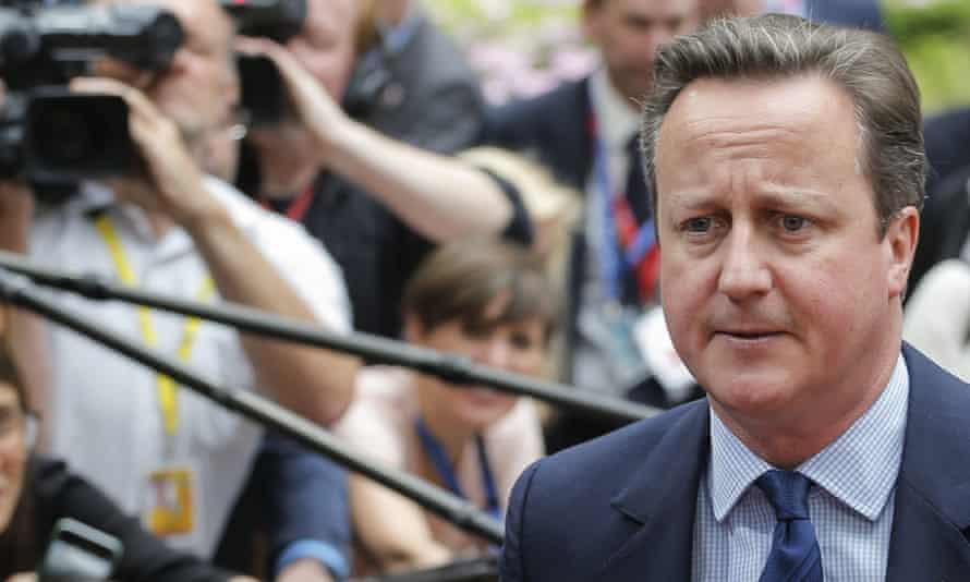 EU Brexit Summit, Brussels, Belgium - 28 Jun 2016Mandatory Credit: Photo by Thierry Roge/Belga via ZUMA/REX/Shutterstock (5737995n) British Prime Minister David Cameron EU Brexit Summit, Brussels, Belgium - 28 Jun 2016