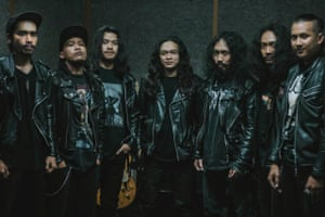 Ensemble Tikoro, a heavy metal choir from the underground music scene in Bandung, make their first appearance outside Indonesia in Metal.
