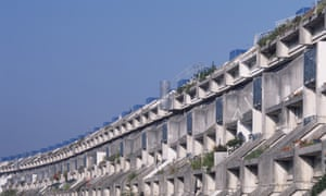 Neave Brown designed the Alexandra Road estate in London.