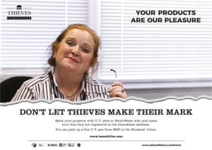 Thieves Inc. tells the story of a company that specialises in obtaining property from student 'suppliers' and reselling it for profit.