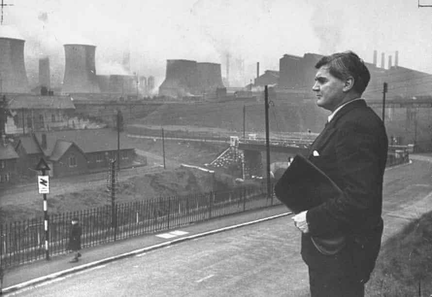 Former Labour leader Aneurin Bevan.