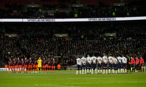 A minutes silence as part of remembrance commemorations and for the victims of Saturday's Leicester helicopter crash.