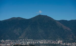 "General view of the Waraira Repano mountain, also called ""El Avila"", in Caracas, the Venezuelan capital"