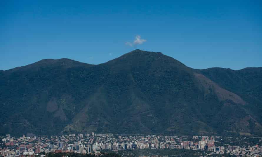 "General view of the Waraira Repano mountain, also called ""El Avila"", in Caracas, the Venezuelan capital"