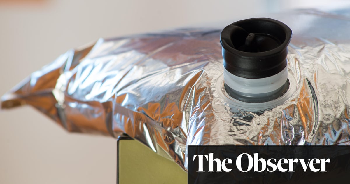 Box of delights: it's time to think again about bag-in-box wines