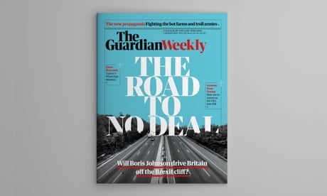 Boris Johnson and the road to no deal – this week's Guardian Weekly