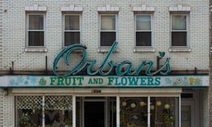 Orban's Fruit and Flowers shop in Cleveland, Ohio.