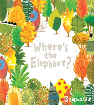 Where's the Elephant? illustrated and written by Barroux (Egmont Books)
