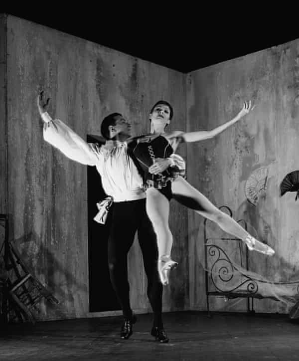 Zizi Jeanmaire and Roland Petit in a 1956 production of Carmen.