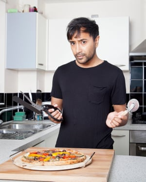 'I find myself missing the pizzazz of the pizza wheel.'