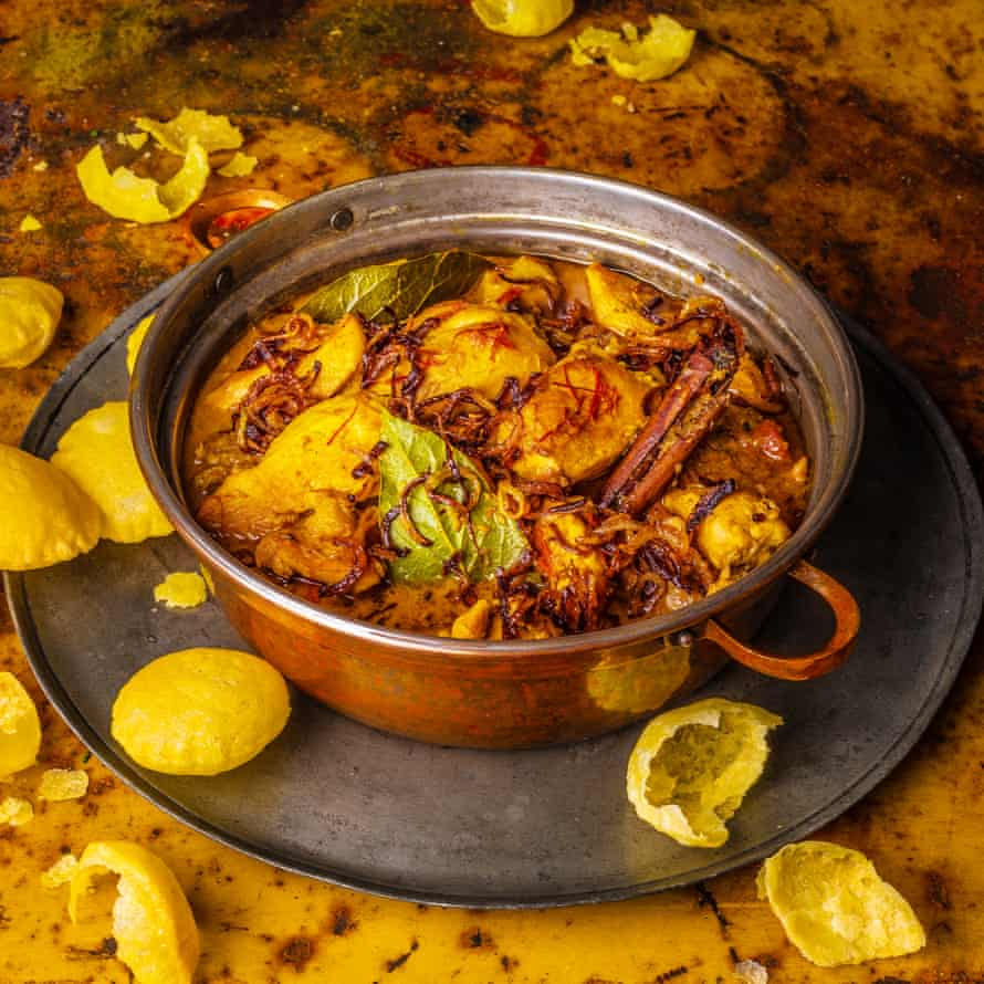Chicken Moghlai Classic Cookbook Madhur Jaffrey An Invitation to Indian Cooking Observer Food Monthly OFM