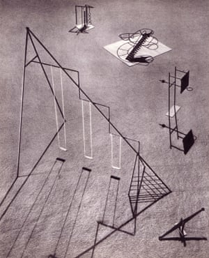 Playground Equipment for Ala Moana Park, Hawaii by Isamu Noguchi, 1939.