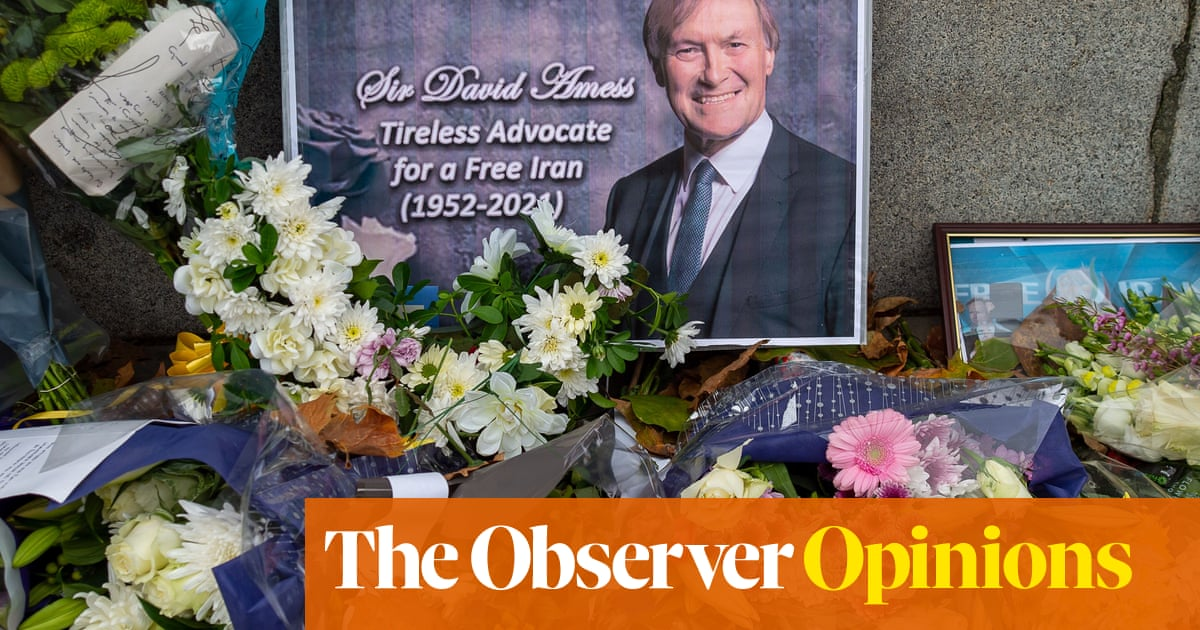After David Amess' death, civility in politics is more vital than ever