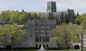 The US Military Academy at West Point, New York.