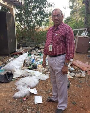 Dr R Vasudevan, a chemistry professor and dean at the Thiagarajar College of Engineering in Madurai.