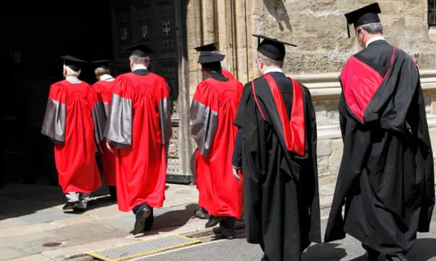 Academics at Oxford University