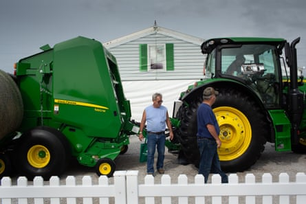 Farm equipment manufacturers say tariffs have been terrible for business.