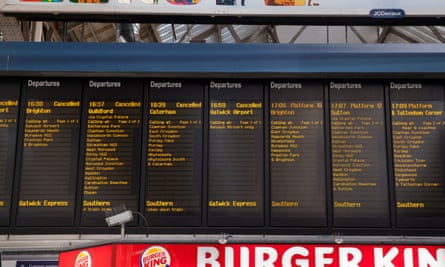 In response to industrial action and high levels of staff sickness, Southern cut 350 trains per day.