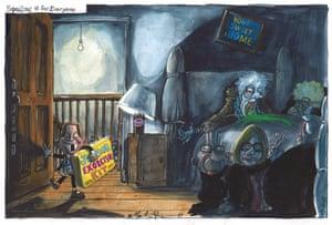 Martin Rowson cartoon 07.10.2017