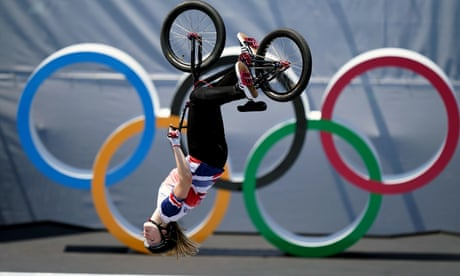 Britain's Charlotte Worthington springs BMX freestyle upset to win Olympic gold