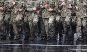 Soldiers in Aldershot