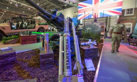 A Defence and Security Equipment International event in London