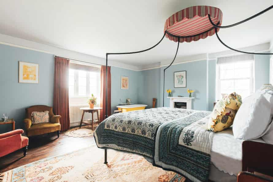 A bedroom Glebe House