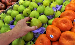 Falling fruit prices helped drive lower inflation in the March quarter. The Coalition's policy of letting the private sector boost demand hasn't worked.