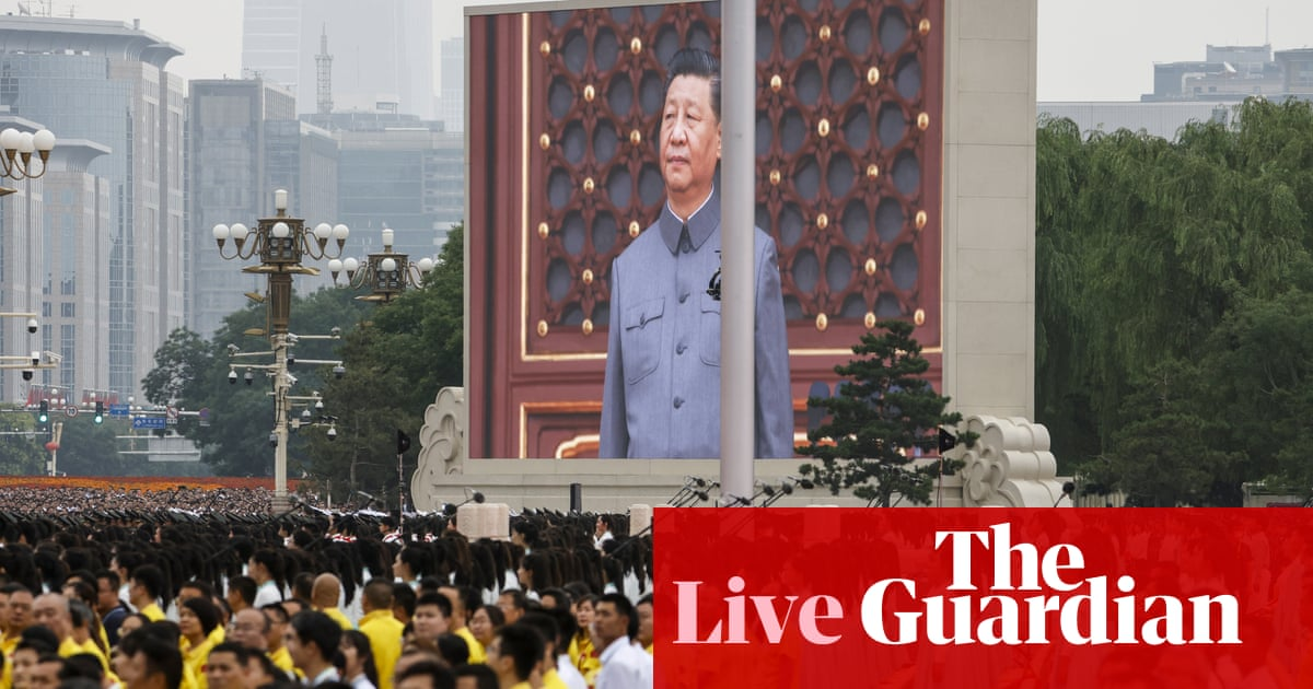 Chinese Communist Party 100th anniversary: Xi Jinping delivers key speech – live updates
