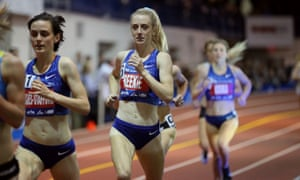 Jemma Reekie, who smashed the British indoor mile and indoor 1500m records at the Millrose Games in New York.