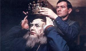 Albert Finney and Tom Courtenay in The Dresser, 1983