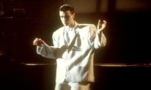 David Byrne in Stop Making Sense.