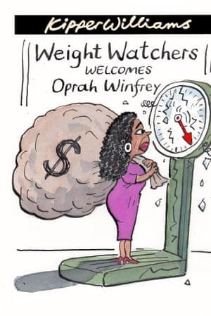 Kipper Williams on Oprah Winfrey and Weight Watchers