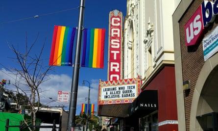 Entrance to Lesbians Who Tech Conference: San Francisco